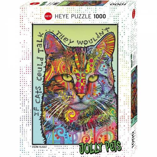 HEYE Puzzle »Puzzle If Cats Could Talk, 1000 Teile«, Puzzleteile