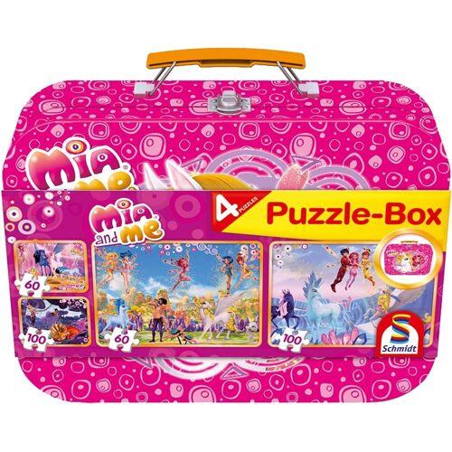 Schmidt Spiele Puzzle »Schmidt – Mia and Me Puzzle-Box, 2 x 100 Teile, 2«, 100 Puzzleteile