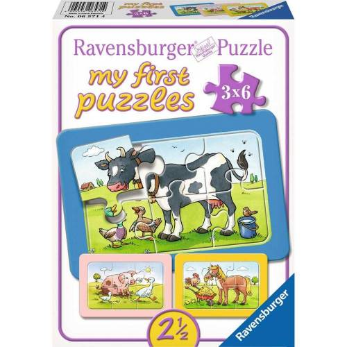 Ravensburger Puzzle »Gute Tierfreunde - My First Puzzles«, 6 Puzzleteile