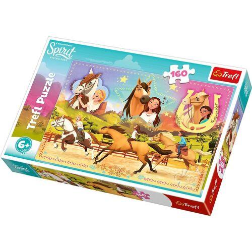 Trefl Puzzle »Puzzle 160 Teile - Spirit: wild und frei«, Puzzleteile