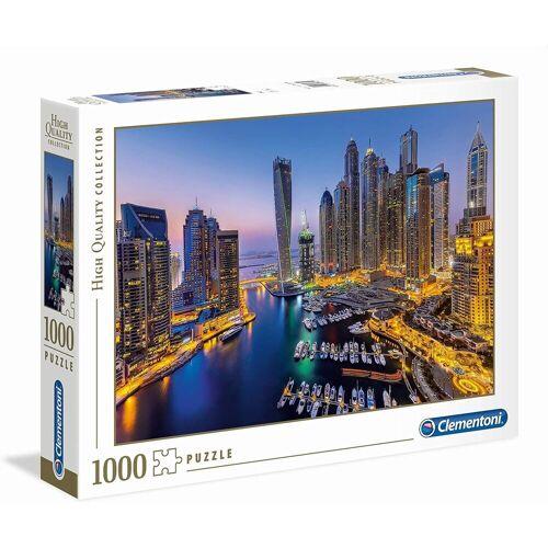 Clementoni® Puzzle »Clementoni - Dubai, 1000 Teil Puzzle«, 1000 Puzzleteile