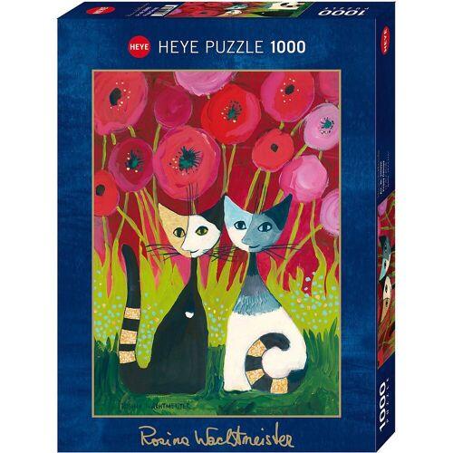 HEYE Puzzle »Puzzle Poppy Canopy *,1000 Teile«, Puzzleteile