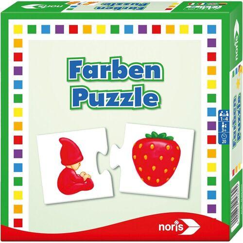 Noris Puzzle »Farben- Puzzle«, Puzzleteile