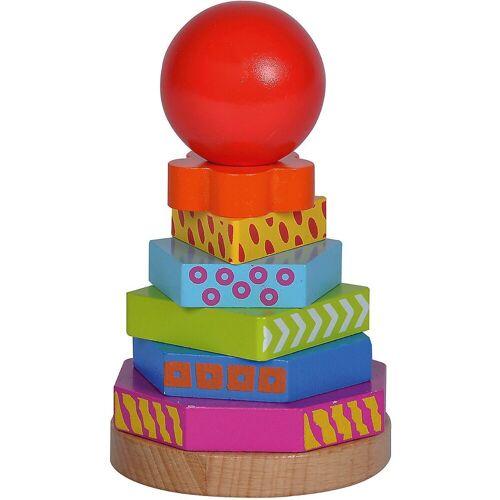 Eichhorn Stapelspielzeug »Steckturm Color«