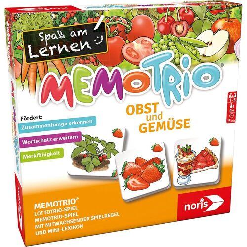 Noris Spiel, »MemoTrio Obst und Gemüse«
