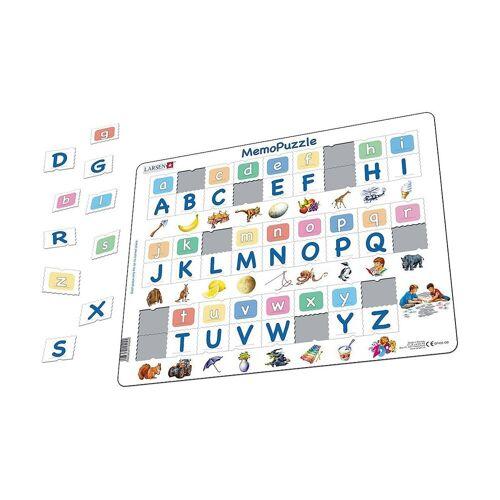 Larsen Puzzle »Memo-Puzzle ABC«, Puzzleteile