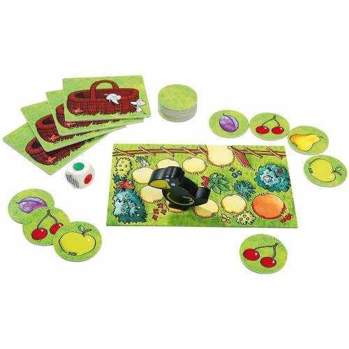 Haba Spiel, »Obstgarten Memo«