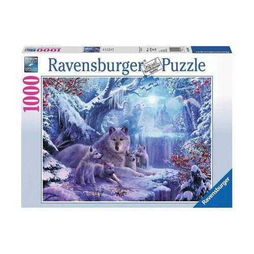 Ravensburger Puzzle »Puzzle 1000 Teile, 70x50 cm, Winterwölfe«, Puzzleteile