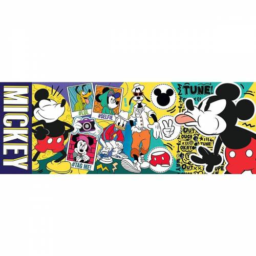 Trefl Puzzle »Panorama Puzzle 500 Teile - Mickey & Friends«, Puzzleteile