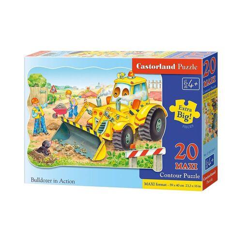 Castorland Puzzle »Puzzle 20 Teile Kontur Maxi - Bagger«, Puzzleteile
