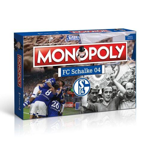 Winning Moves Spiel, Brettspiel »Monopoly FC Schalke 04«, Fußballfanartikel