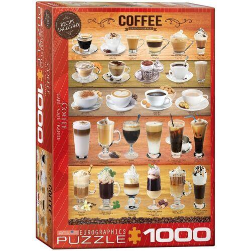 empireposter Puzzle »Duftende Kaffee Variationen - 1000 Teile Puzzle im Format 68x48 cm«, Puzzleteile