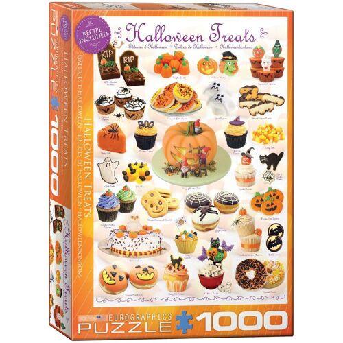 empireposter Puzzle »Süsse Halloween Naschereien - 1000 Teile Puzzle im Format 68x48 cm«, Puzzleteile
