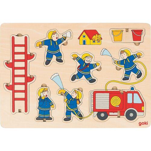 goki Steckpuzzle »Aufstellpuzzle Feuerwehr«, Puzzleteile