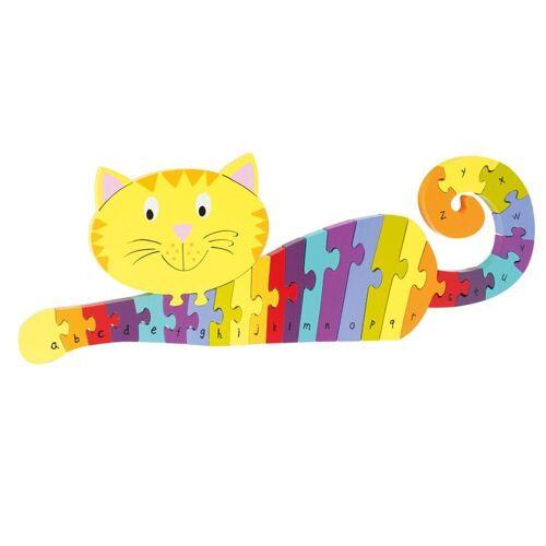Nici Konturenpuzzle »ABC Puzzle Katze«, 27 Puzzleteile