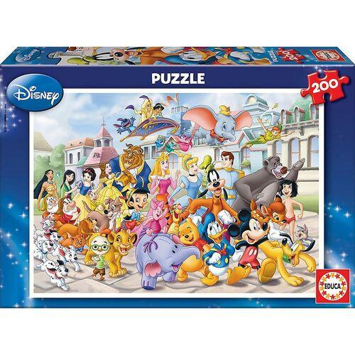 Educa Puzzle »Puzzle Disney Parade, 200 Teile«, Puzzleteile