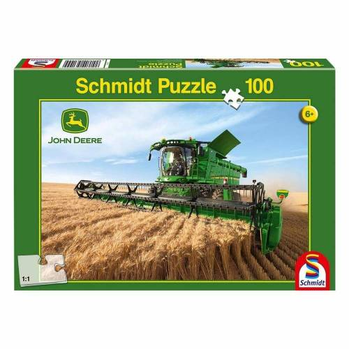 Schmidt Spiele Puzzle »John Deere Mähdrescher S690«, 100 Puzzleteile