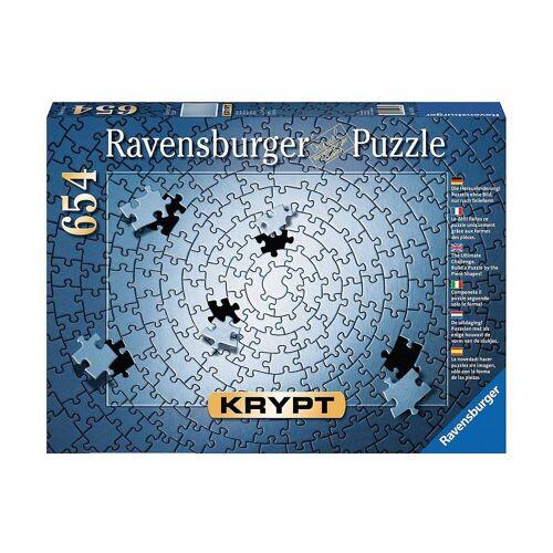 Ravensburger Puzzle »Puzzle 654 Teile, 70x50 cm, Krypt silber«, Puzzleteile