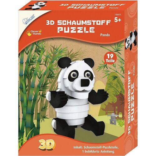 MAMMUT Spiel und Geschenk 3D-Puzzle »3D Schaumstoff Puzzle Panda«, Puzzleteile