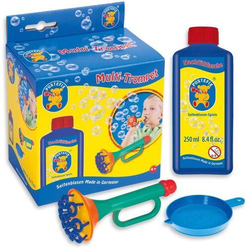PUSTEFIX Seifenblasenspielzeug »Multi-Bubble-Trompete mit 250 ml Seifenblasen-Flüssigkeit«