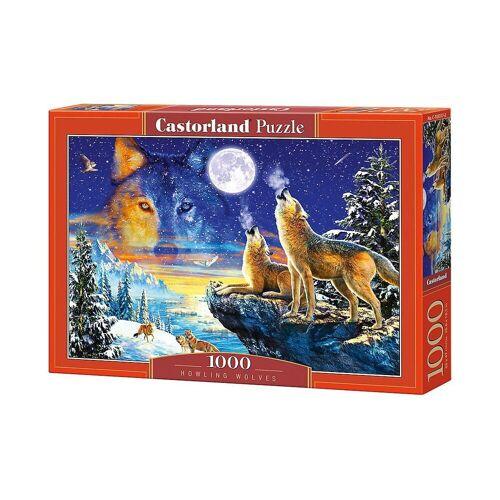 Castorland Puzzle »Puzzle 1000 Teile Heulende Wölfe«, Puzzleteile
