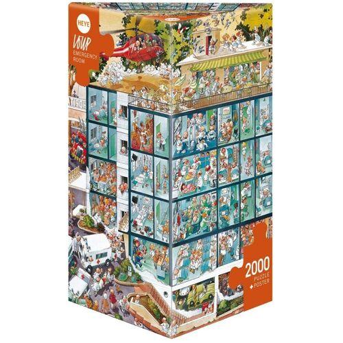 HEYE Puzzle »Emergency Room, Loup«, 2000 Puzzleteile
