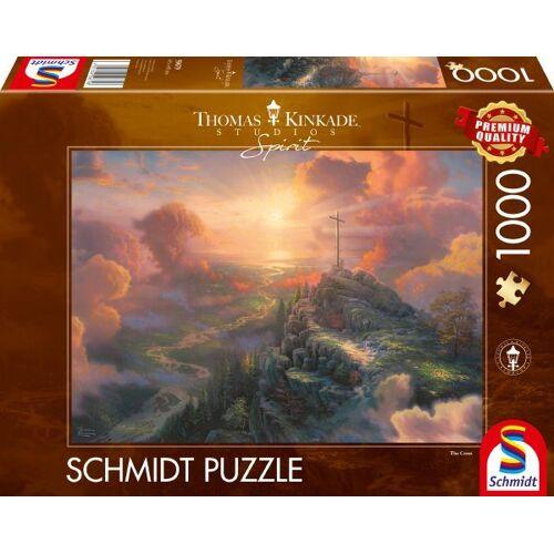 Schmidt Spiele Puzzle »Spirit, Das Kreuz«, 1000 Puzzleteile, Thomas Kinkade; Made in Europe