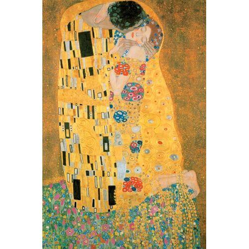 Piatnik Puzzle »Der Kuss - METALLIC«, 1000 Puzzleteile