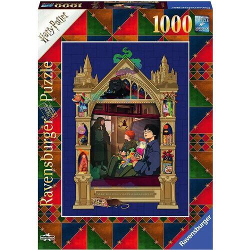 Ravensburger Puzzle »Puzzle Harry Potter Weg nach Hogwarts, 1.000 Teile«, Puzzleteile