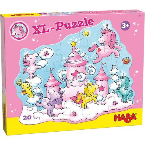 Haba Puzzle »305467 XL-Puzzle Einhorn Glitzerglück«, Puzzleteile