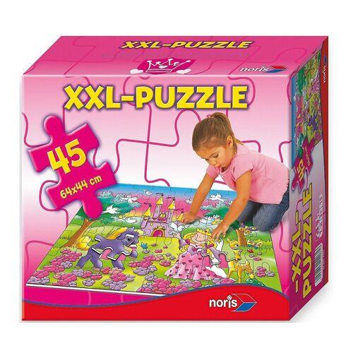 Noris Puzzle »Bodenpuzzle 45 Teile Prinzessin«, Puzzleteile