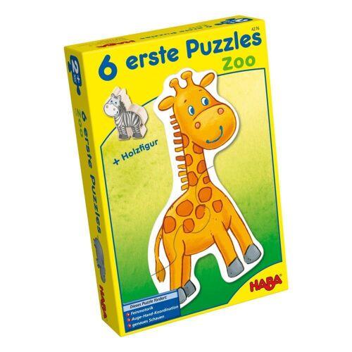 Haba Puzzle »6 Erste Puzzle Zoo 13-tlg.«, 12 Puzzleteile