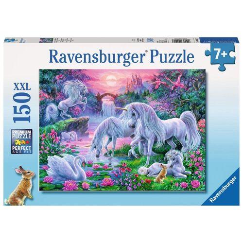 Ravensburger Puzzle »Einhörner Im Abendrot«, 150 Puzzleteile