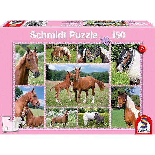 Schmidt Spiele Puzzle »Puzzle 150 Teile Pferdeträume«, Puzzleteile