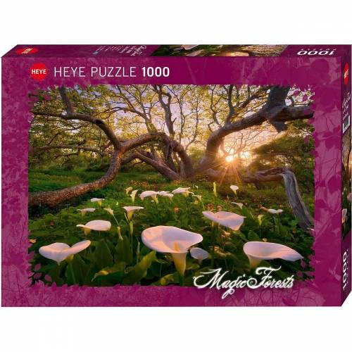 HEYE Puzzle »Puzzle Calla Clearing, 1000 Teile«, Puzzleteile