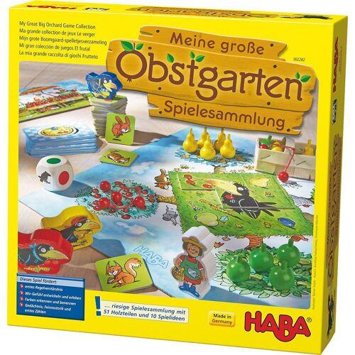 Haba Spielesammlung, »302282 Meine große Obstgarten-Spielesammlung«