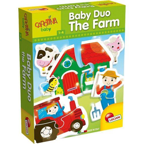 Lisciani Puzzle »Baby Duo - Bauernhof«, Puzzleteile