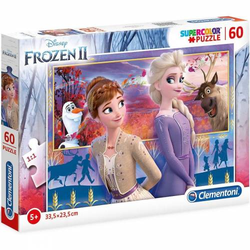 Clementoni® Puzzle »Puzzle 60 Teile Die Eiskönigin 2«, Puzzleteile