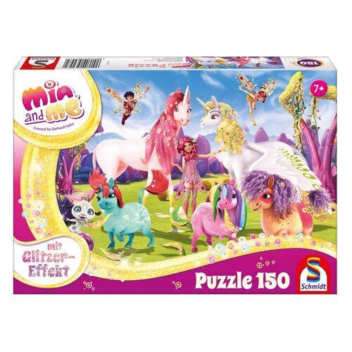 Schmidt Spiele Puzzle »Ankunft der Pony Einhörner«, 150 Puzzleteile