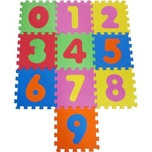 Knorrtoys® Puzzle »Zahlen«, 10 Puzzleteile