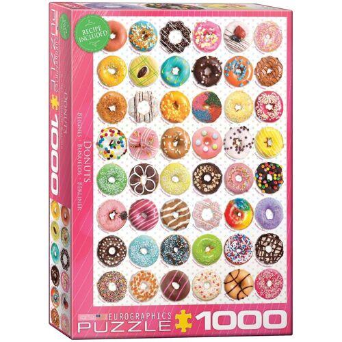 empireposter Puzzle »Donuts - Süße Kollektion - 1000 Teile Puzzle - Grösse 68x48 cm.«, 1000 Puzzleteile