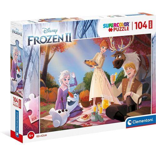 Clementoni® Puzzle »Puzzle 104 Teile, Maxi - Frozen 2«, Puzzleteile