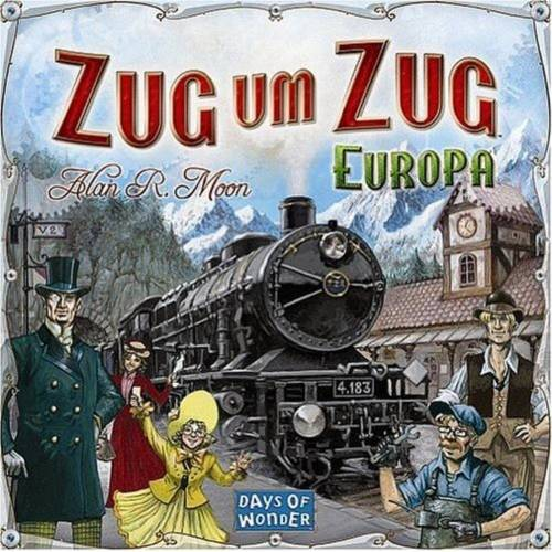 Asmodee Spiel, »Zug um Zug Europa Brettspiel Gesellschaftsspiel NEU«