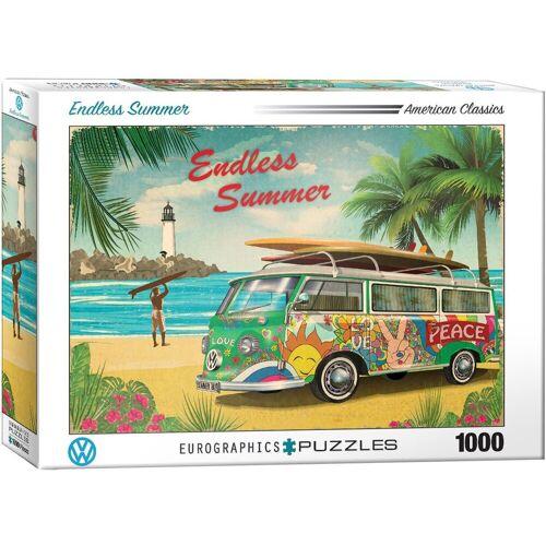 empireposter Puzzle »Der Surfer Bulli - Endless Summer - 1000 Teile Puzzle im Format 68x48 cm«, 1000 Puzzleteile
