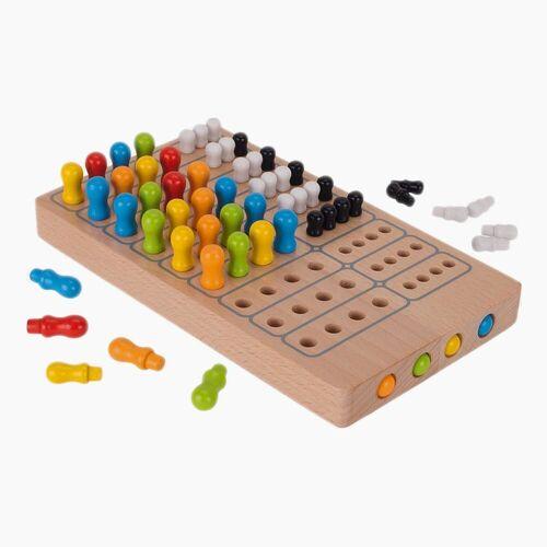 goki Spiel, Logikspiel »Brettspiel Master Logic«, aus Holz