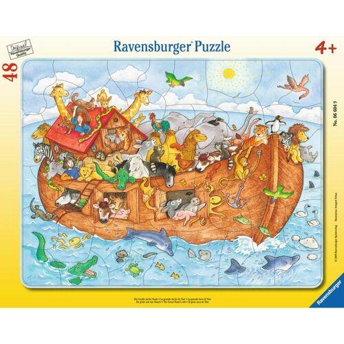 Ravensburger Rahmenpuzzle »Die Große Arche Noah - Rahmenpuzzle«, 48 Puzzleteile