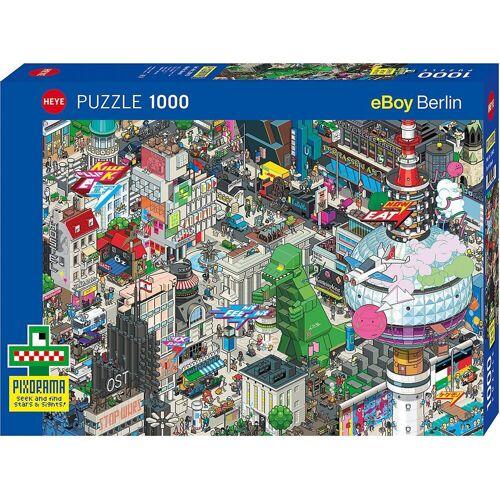 HEYE Puzzle »Puzzle Berlin Quest, 1000 Teile«, Puzzleteile