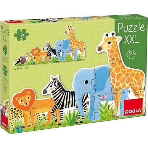 Goula Puzzle »XXL-Puzzle 16 Teile - Dschungel«, Puzzleteile
