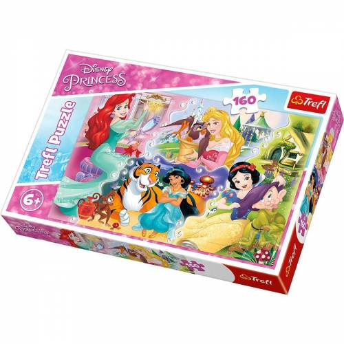 Trefl Puzzle »Puzzle 160 Teile - Disney Princess«, Puzzleteile