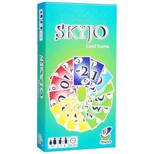 Magilano Spiel, Gesellschaftsspiel »SKYJO Kartenspiel Familien Kinder-Spiel Spiele-Abend Gesellschaftsspiel«, 2-8 Spieler, 30 min. Spieldauer